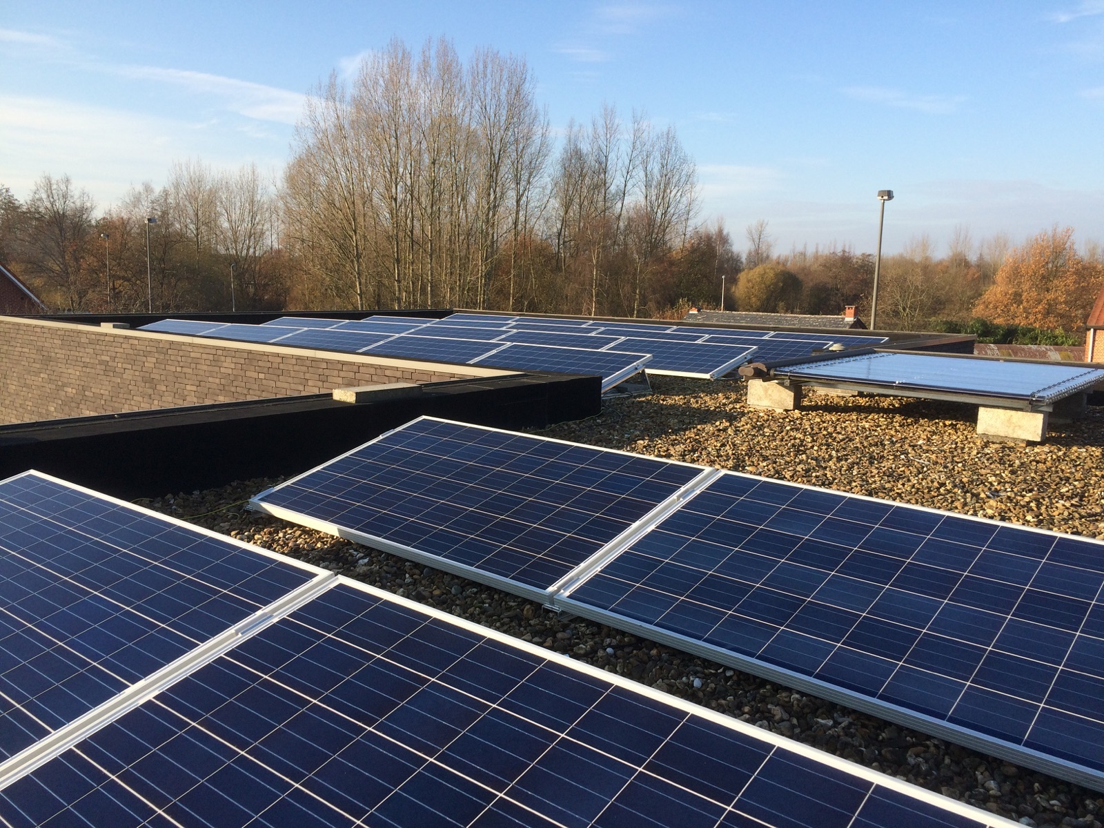 Neerpelt zonnepanelen dak
